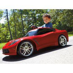 fisher price power wheels corvette stingray 12 volt battery powered ride on