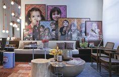 Glamour e Glacê: Casa: Salas de Estar em Tons de Cinza