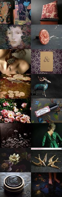 Enchanted Tapestry by Carice on Etsy--Pinned with TreasuryPin.com