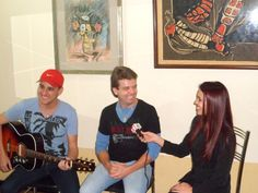 Entrevista para o Jornal Cidade em Foco na TV Rio Verde-Go! Valeu Nathália pelo carinho!