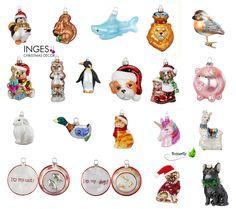 Christbaumschmuck Tiere Glas Weihnachtsbaumschmuck Anhänger Weihnachtsfiguren | eBay
