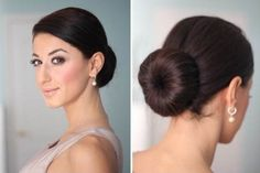 How to create a Perfect low bun Hairstyle