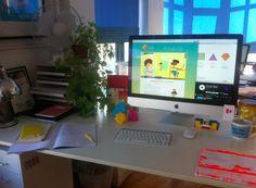 Design&Co  @TheSamFranDisco desk's @77StokesCroft #Idesignhere