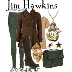 Jim Hawkins- Winter, created by disneythis-disneythat on Polyvore