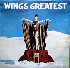 PAUL McCARTNEY & WINGS, 'Wings Greatest' [1978]. Portugal LP ALBUM BEATLES 8E07261963 Free S&H