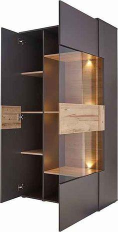 Living Room Wall Units, Wood Furniture Living Room, Home Decor Furniture, Furniture Design, Dining Cabinet, Cabinet Decor, Kitchen Cabinet Design, Bedroom Bed Design, Home Room Design
