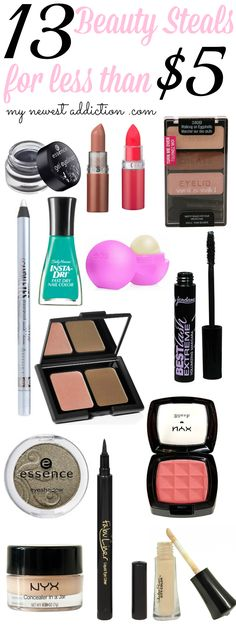 Beauty Steals Under $5 - My Newest Addiction Beauty Blog