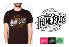 Heine Bros' Vintage T-Shirt	Heine Brothers' Coffee	strADegy Advertising	Creative Director, Nathan Weaver	Art Director, Ashley Trommler