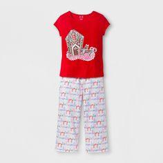 Girls' Pajama Set - EV Holiday Red XS