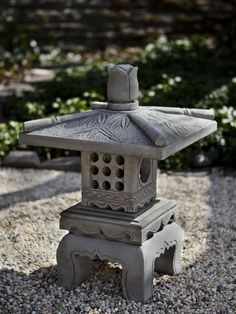 Order the Campania International Bamboo Pagodatoday online from The Garden Gates . Find more home & garden decor from Campania International at The Garden Gates . Learn more about Campania International Bamboo Pagoda by visiting The Garden Gates . Japanese Garden Lanterns, Japanese Stone Lanterns, Japanese Garden Design, Japanese Gardens, Chinese Garden, Garden Fountains, Garden Statues, Temple Gardens, Diy Bird Feeder