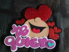 foamy                                                                                                                                                                                 Más Foam Crafts, Diy And Crafts, Crafts For Kids, Candy Bouquet, Ideas Para Fiestas, Pretty Art, Diy Gifts, Minnie Mouse, Projects To Try