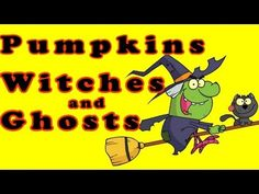 ▶ Halloween Songs for Children - Pumpkins, Witches and Ghosts - Kids Song by The Learning Station - YouTube
