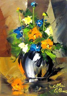 LEBLANC, ALBINI Joli petit bouquet - Albini Leblanc - Galerie d'art Iris, Baie-Saint-Paul - Charlevoix