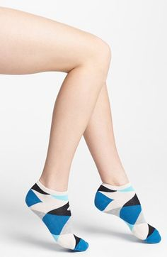 kate spade new york 'harlequin' ped socks