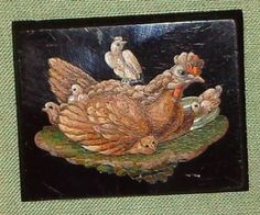 Micromosaic Chicken and Chicks...