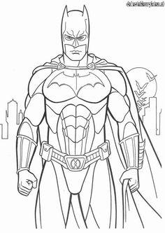 Batman3 - Printable coloring pages
