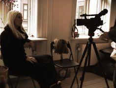Så er vi ved at skyde en video til kampagnen KAN DU SE MIG? - vi glæder os til at dele den med dig