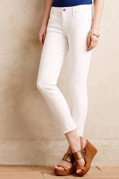 NWT CITIZENS of HUMANITY AVEDON ULTRA SKINNY OPTIC WHITE ANKLE JEANS 30 #CitizensofHumanity #CapriCroppedSlimSkinny