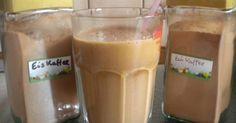 Eiskaffeepulver