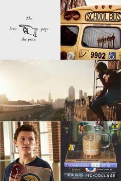 Peter Parker Spiderman Bus