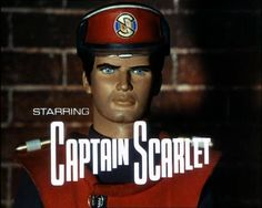 Gerry y Silvia Anderson. Captain Scarlet and the Mysterions. 1967-68