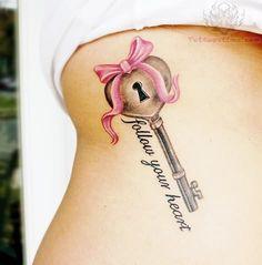 2497-heart-key-ribbon-tattoo