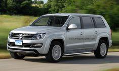 VW Amarok-based SUV - Rendering
