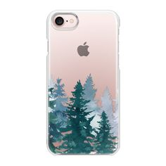 Winter forest - iPhone 7 Case And Cover (98 PLN) ❤ liked on Polyvore featuring accessories, tech accessories, phone case, phones, iphone case, iphone cases, apple iphone case, iphone cover case and slim iphone case
