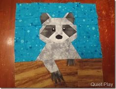 Raccoon by Michelle