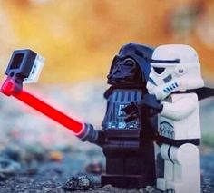 Dark side #selfie