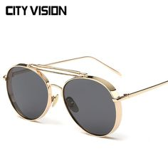 f175dd2f704 Hindfield 2017 New Fashion Retro Sunglasses for Women Clip On Sunglass  Vintage Round Unisex Sun Glasses Men Driving Fishing