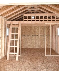 """We have ourselves a """"She Shed""""! Guest House Shed, Shed Cabin, Shed To Tiny House, Tiny House Cabin, She Shed Decorating Ideas, She Shed Interior Ideas, Mini Chalet, Shed With Loft, Shed Loft"""