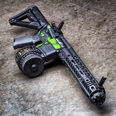 AR with cookie cutter compensator. #Strike Industries.