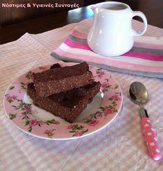 Γλυκά Archives - Page 8 of 10 - Miss Healthy Living Dairy Free Recipes, Healthy Recipes, Chocolate Caramels, Going Vegan, Free Food, Deserts, Clean Eating, Food And Drink, Yummy Food