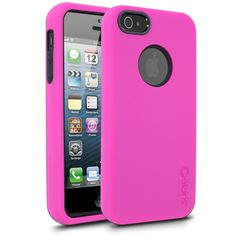 Hot Pink & Black iPhone 5 Cases - www.cellairis.com