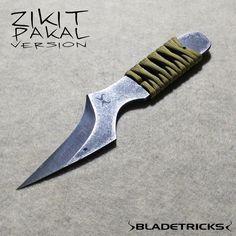 Bladetricks practical fighter Zikit reverse grip knife