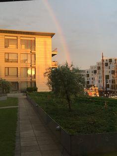 For enden af regnbuen🌈 #regnbue #rainbow