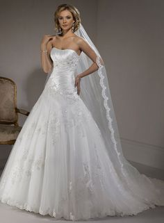 Primavera - by Maggie Sottero    I absolutely LOVED my wedding dress.  Too bad you only get to wear it once!