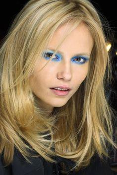Electric blue eyes