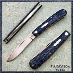 T.A.DAVISON - Slip Joint Knives - Page 27