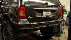 2000 wj rear bumpers w/ wheel mount for sale | Built not bought #512