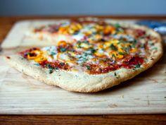 Get Shauna James Ahern's Gluten-Free Pizza Crust Recipe from Food Network