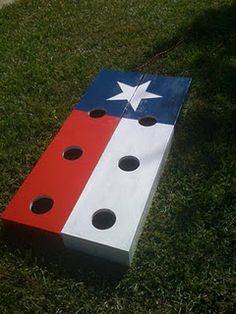 New take on Washers Game~ love this for cook outs and take to the lake.