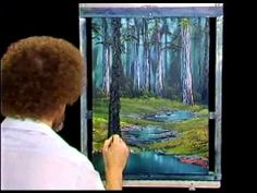 Bob Ross - Painting Secluded Forest - Painting Video