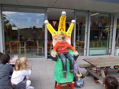 verjaardagstoel op buitenschoolse kinderopvang