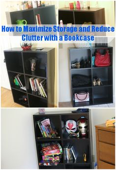Organizing with Bookcase