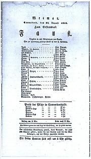 """""""Abject defigurations of the text that are already prefigured in the first published version compared to the manuscript version"""" (Albrecht Schöne about Goethe s stage version of Faust I in comparision to the previous versions ). W. Daniel Wilson comments analogously about the 3 versions of the """"Götz"""", that even the most severe political self-censorship cannot explain the extense of the cuts and detoriations. So Goethe makes his texts worse, and even a lot so."""