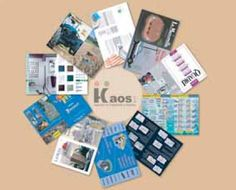 Kaos Agency - cataloghi aziendali - brochure aziendali - cataloghi prodotti - depliant - cartoline