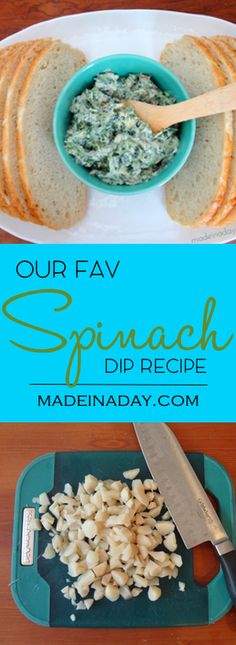 Our Fav Spinach Dip