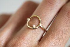 Visibly Interesting: Handcrafted circle ring